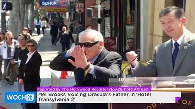 News video: Mel Brooks Voicing Dracula's Father in 'Hotel Transylvania 2'